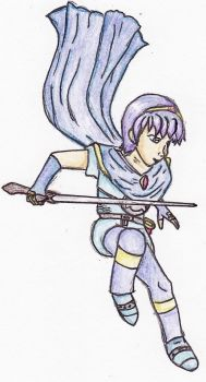 Marth by neverbeentocuba
