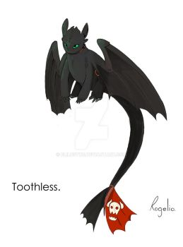 Toothless by Elilustre
