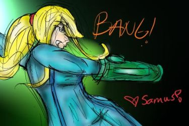 Samus by TheBirthdayMuffin