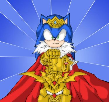 King Sonic by RX-BlackHowling