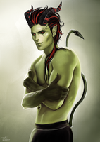 The Green Demon by Vampire-Sacrifice