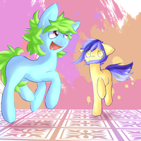 Doot doot dance floor by Heise-kun