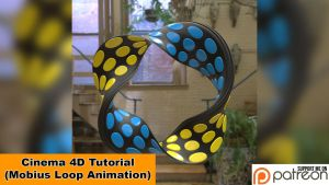 Mobius Loop Animation (Cinema 4D Tutorial) by NIKOMEDIA