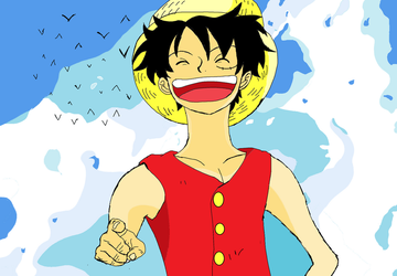 Monkey D.Luffy by Adasse01