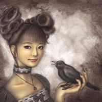 Crow Girl by kylen