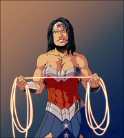 WonderWoman by ZigEnfruke