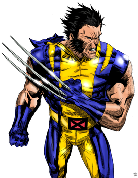 Wolvie by arissuparmanart