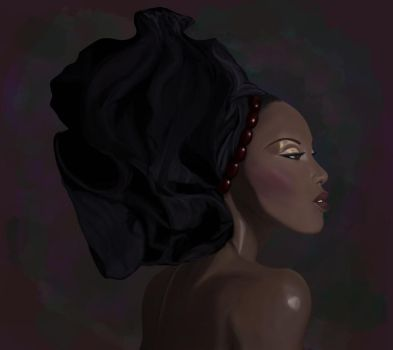 African-American Woman by zilfoxx