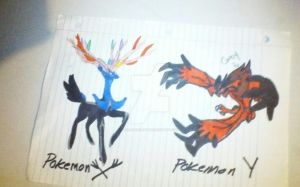 Pokemon X And Pokemon Y by EclipseQuest2