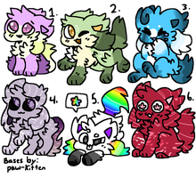 Adopt Collab With LazyWolf010 {5/6} OPEN by Blume-Doom