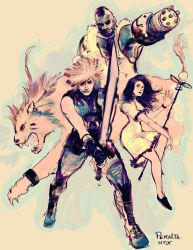 Final Fantasy 7 by ch-peralta