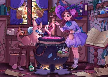 The love potion by HollyBell