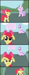 Applebloom Diamond Tiara Agression And Passion by My-Little-Translate