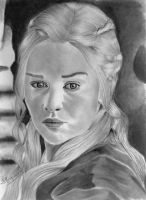 Khaleesi - The mother of dragons by JeffSequeira
