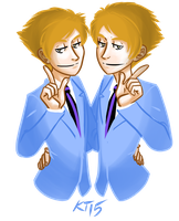 The Twins by kytri