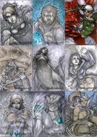 Spellcasters 2 - Set 1 by theopticnerve
