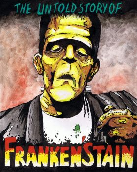 The untold story of FRANKEN'STAIN by BoGi-Art