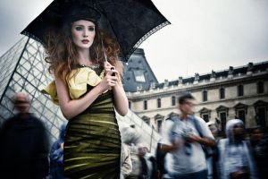 Louvre by andreaperrybevan