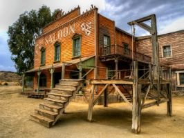 Old Saloon by CMiner1