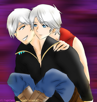 Devil May Cry4- Hey there Kid- by YugixYamiLove4ever