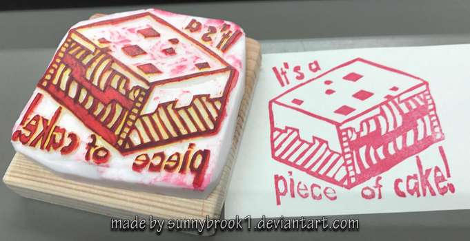 MC Stamp - It's a piece of cake! by Sunnybrook1