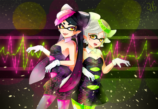 Squid Idols by jollyrose