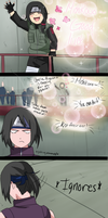 Michiko's Chunin Exam: I'm Rooting for You! by anniberri