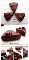 Chocolate Fudge Cake by ChocoAng3l