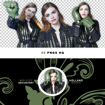 Pack png 144 // Holland Roden by mxlfoy