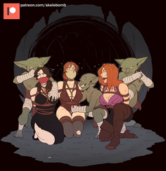 Dungeon Delve Part 1: It Had to be Goblins by Skelebomb