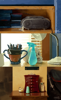 some schoolism studies by reynagroff