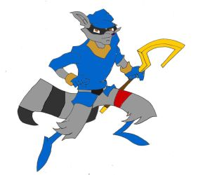 Sly Cooper by spacegridwyvrom