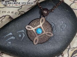 Amulet of Mara - Stainless Steel Pendant by PeregrineStudios