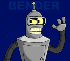 BENDER by MochaTheDog