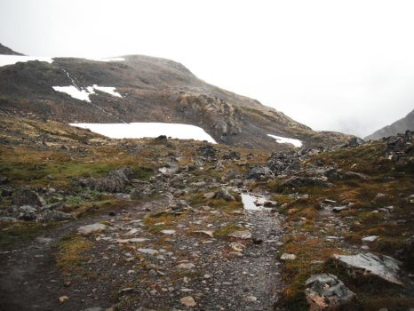 Crow's Pass Glacier 2 by prints-of-stock