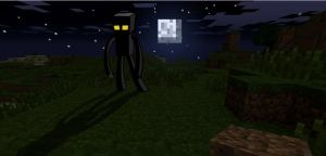 The Enderman by Grizno