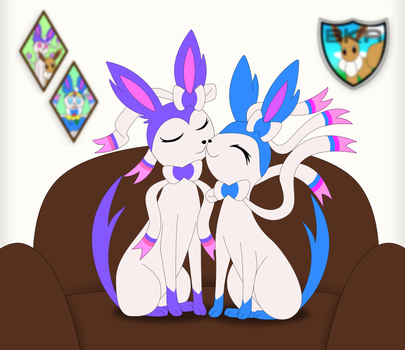 CM: BoltMagie and Gf Sylveons by xSweetSlayerx