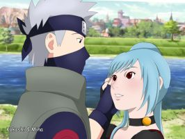 Kakashi and Mina are very close by Pungpp