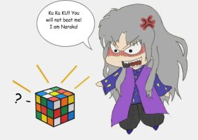 Naraku vs Cube by 3HLS