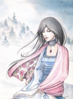 A Rose in the Snow by SaraCuervo