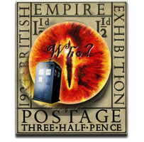 Eric Gill Dr Who Sauron's Eye Icon by yereverluvinuncleber