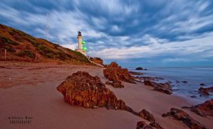 Lighthouse in March by daniellepowell82