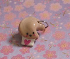 Fortune Cookie Charm by punchedpurple