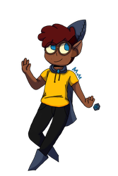 Nerris the cute from camp camp by MilkyTheMooIsLame