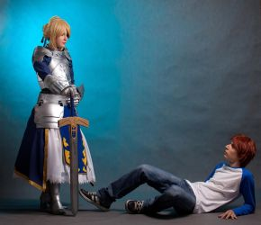 Fate Stay Night : I ask of you by Shappi