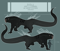 REFERENCE - Doll by CharliOak