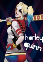 Harley Quinn by gintrax13
