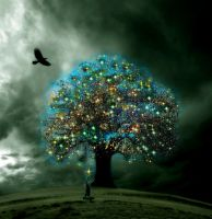 The Tree of Enlightenment by sky-2011
