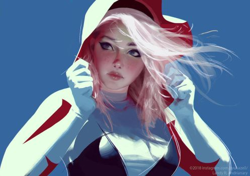Spider gwen by Jiyu-Kaze