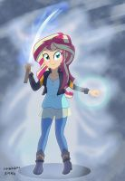 sunset shimmer , by sumin6301